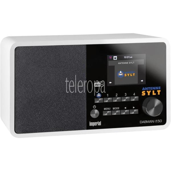 IMPERIAL DABMAN i150 Antenne Sylt Edition DAB+ Digitalradio und Internetradio weiß vorne