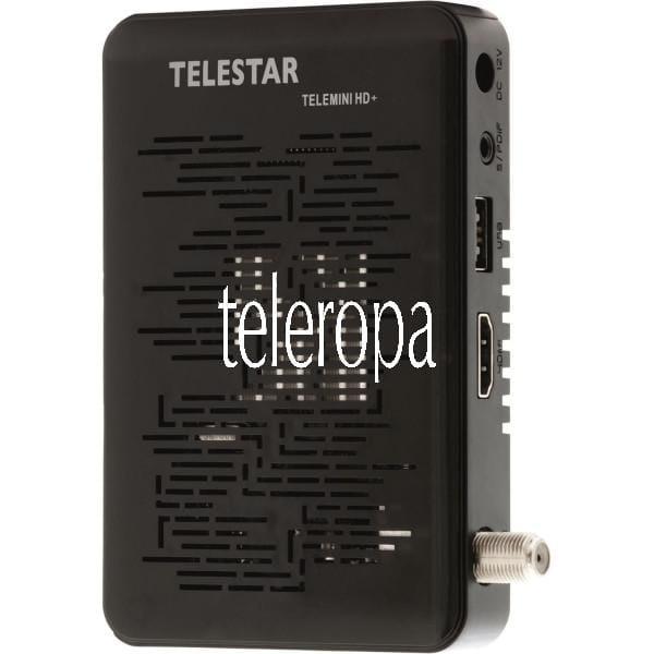 TELESTAR TELEMINI HD+ DVB-S2 und HD+ Sat-Receiver inkl. 6 Monate HD+ Gratis Bild