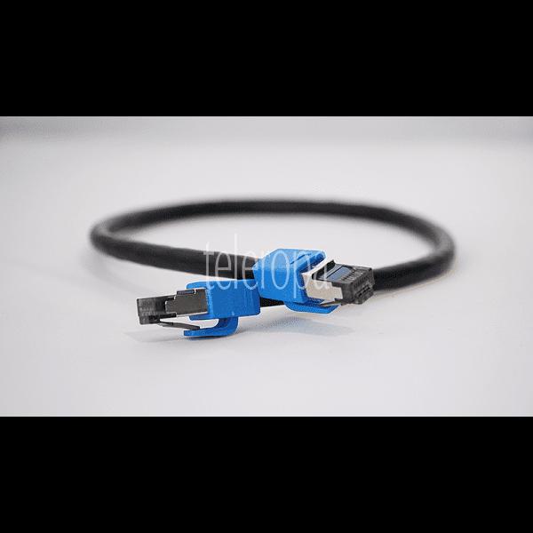 GigaBlue Cat.8 Netzwerkkabel/ Patchkabel Lan Kabel Bild 1