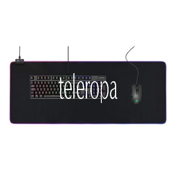 Extra Großes RGB Mauspad (900x360x4mm, 6 x RGB-Modi, 7 x Static-Modi) B-Ware