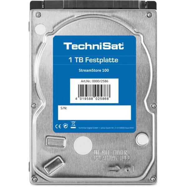 StreamStore 100 interne 2,5 Zoll SATA III HDD 1 TB Speicherkapazität