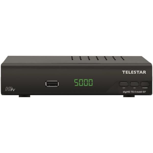 TELESTAR digiHD TS 4 mobil EF HDTV Satreceiver mit Easyfind-Funktion Bild