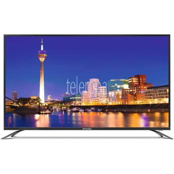 "TechniSat Monitorline UHD 49 124 cm (49"" Zoll) UHD 4K Fernseher/Monitor (HDR10, Eco, 3x HDMI) Frontansicht 1"