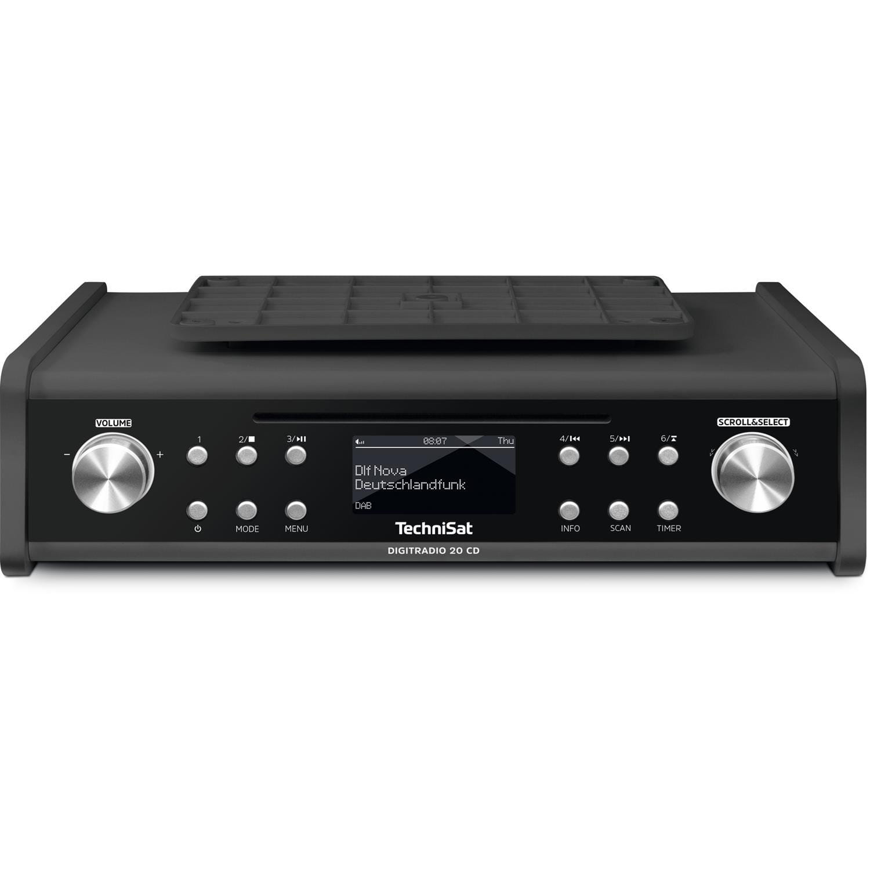 DIGITRADIO 20 CD DAB+ und UKW Unterbau Küchenradio