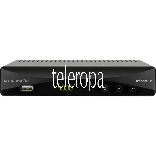 IMPERIAL T2 IR Plus DVB-T2 HD Receiver mit freenetTV Entschlüsselungssystem Bild
