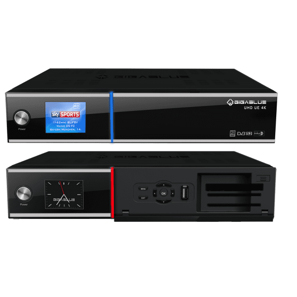 GigaBlue UHD UE 4K TWIN LINUX TV Receiver mit Hybrid Eigenschaft Bild11