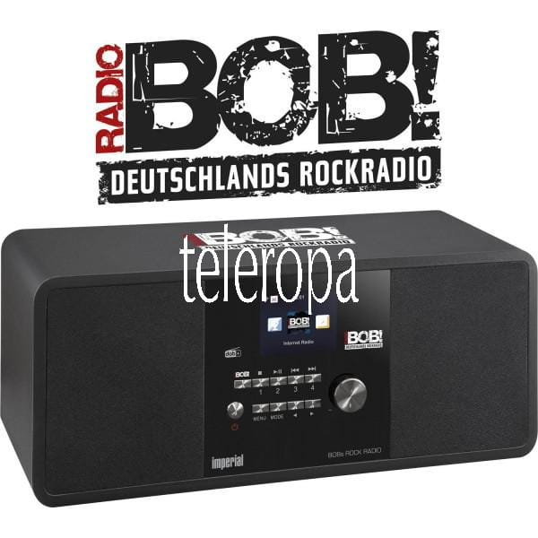 BOBs ROCK RADIO Internet- und DAB+ Digitalradio Sonderedition