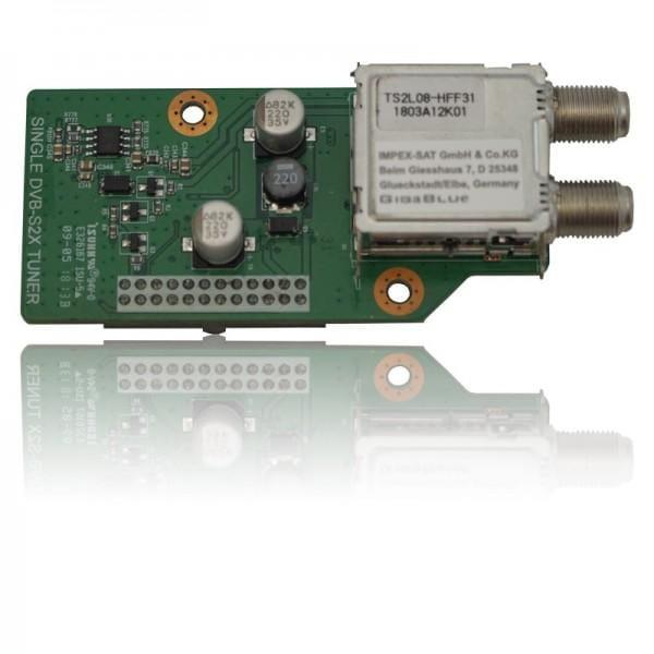 Gigablue Single DVB-S2X HDTV Tuner zur Quad4K, UE 4K & X2