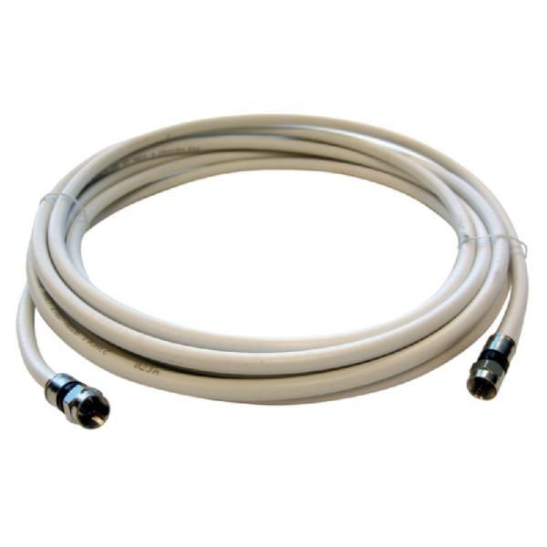 AKS 500 L SAT Anschlusskabel (F-Stecker / F-Stecker, 5 m, PVR, 3-fach Geschirmt, für den Satelliten-
