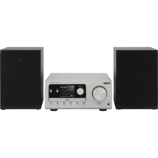 DABMAN i300 CD Hybrid Mikro-HiFi-System DAB+ FM Webradio CD Player Bluetooth Equalizer 2x 20W