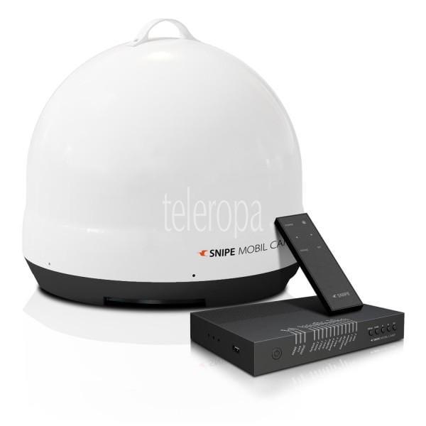 Snipe Mobil Camp vollautomatische Satelliten Antenne (DVB-S2, für Camping geeignet) Bild1