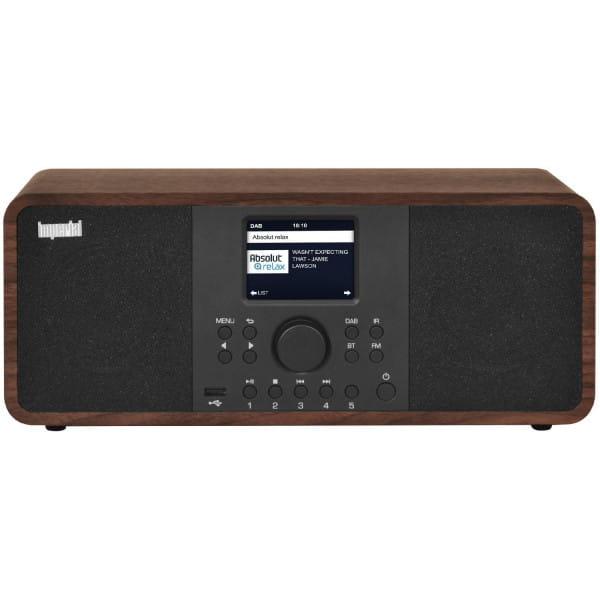 DABMAN i205 (Stereolautsprecher, DAB+/DAB/UKW/Internetradio, Spotify Connect, USB, WLAN)
