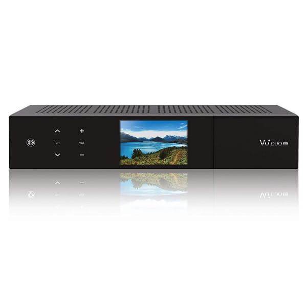 VU+ Duo 4K 1x DVB-C FBC Tuner PVR ready Linux Receiver UHD 2160p Bild1