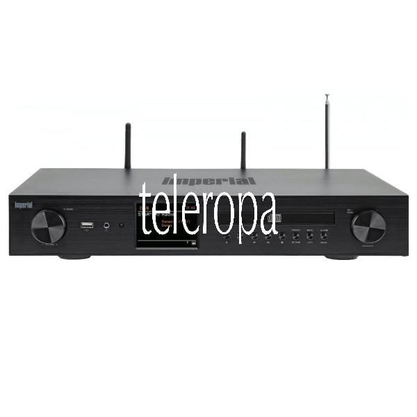 DABMAN i550 CD HiFi Receiver (mit Verstärker und CD Player, Bluetooth & UPnP/DLNA, USB, MP3, WMA, WL