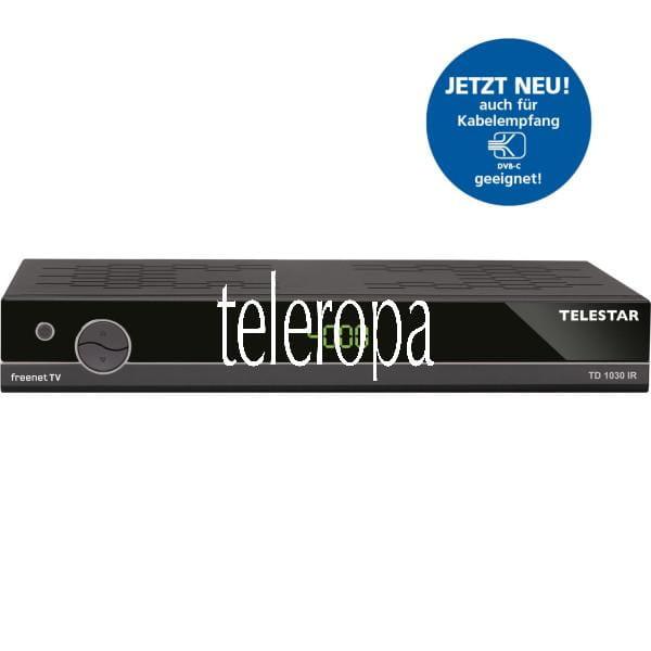 TD 1030 IR DVB-T2 inkl. 3 Monate freenet TV¹ und DVB-C2 Kabel Receiver