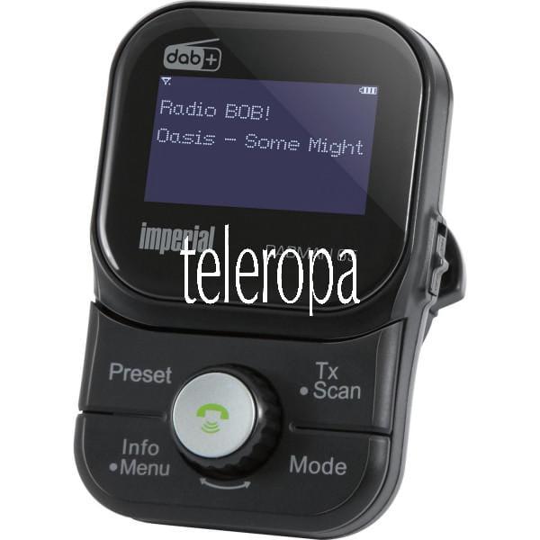 IMPERIAL DABMAN 65 DAB+ Auto Adapter (MicroSD, MP3, Akku, Bluetooth Freisprecheinrichtung) Bild 1