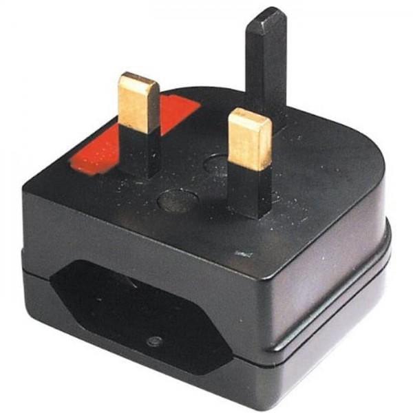 Adapter UK- auf Euro-Stecker