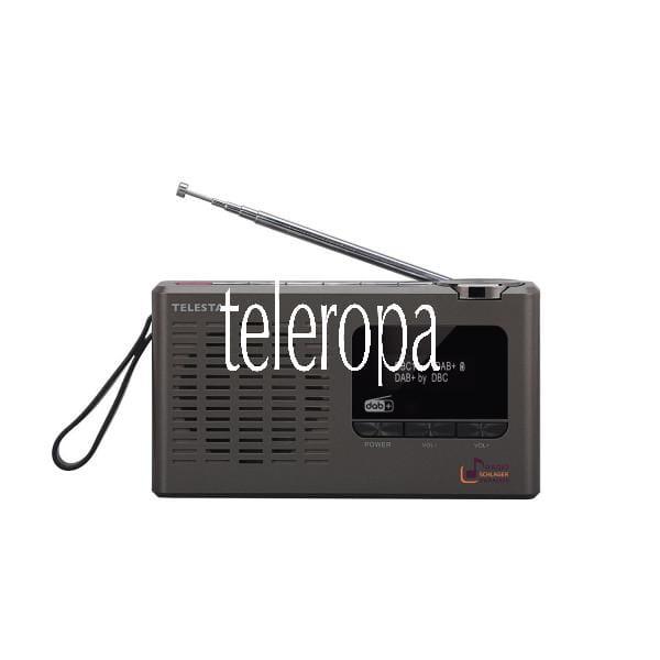 TELESTAR SCHLAGERPARADIES DAB+ Digital-Radio Sonderedition (mit Schlagerparadies Direktwahltaste, Teleskopantenne, Kopfhöreranschluss, zweizeiliges Display) Bild 6