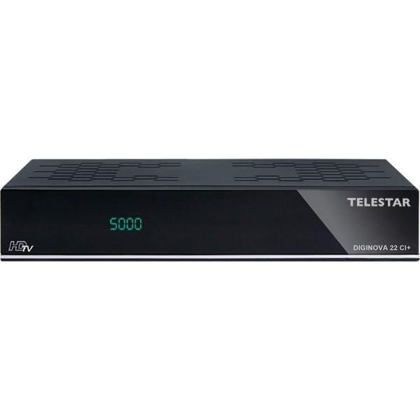TELESTAR DIGINOVA 22 CI+ DVB-T und SAT Combo Receiver gebraucht/generalüberholt Bild1