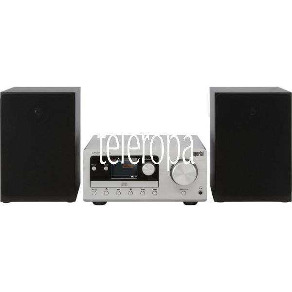 DABMAN i300 CD Hybrid Mikro-HiFi-System DAB+ FM Webradio CD Player Bluetooth Equalizer 2x 20W