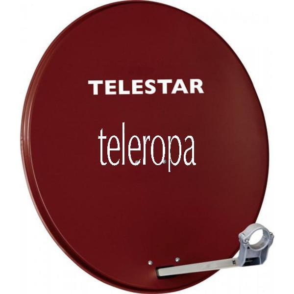 TELESTAR DIGIRAPID 80 80 cm Aluminium-Sat-Spiegel