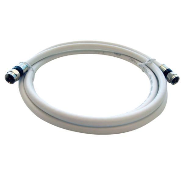 AKS 150 L SAT Anschlusskabel (F-Stecker / F-Stecker, 1,5 m, PVR, 3-fach Geschirmt, für den Satellite