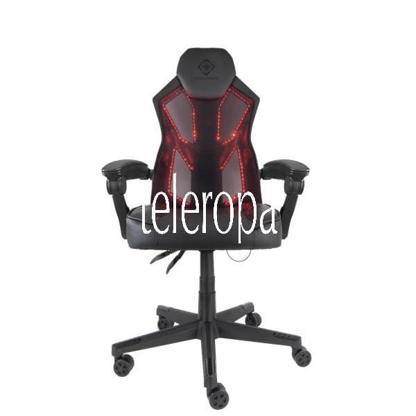 Gaming Stuhl mit RGB-Beleuchtung (PU-Leder, Büro, Schreibtisch, Work)