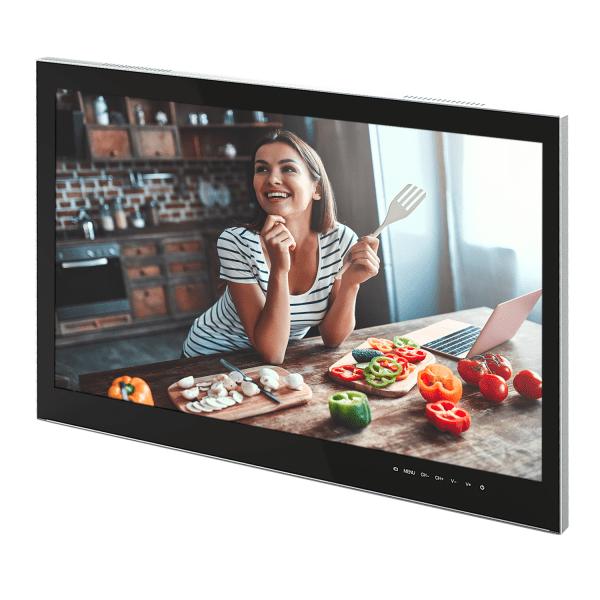 """DYON CULINA 23,8"""" Full-HD LED Küchenfernseher mit Blum-Klappensystem zum Einbauen [Energieklasse A] Bild 1"""